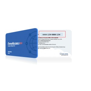 EasyAccess 2.0 Activation Card (Weintek)